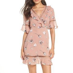 NWT Bardot Tarryn Lattice Embroidery Dress Medium